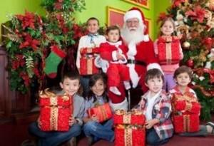 クリスマスプレゼント子供に渡す