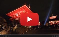 清水寺ライトアップ2013