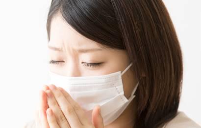 インフルエンザに感染