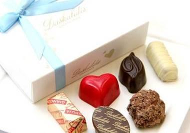 チョコレートをプレゼント