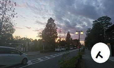 平安神宮の道