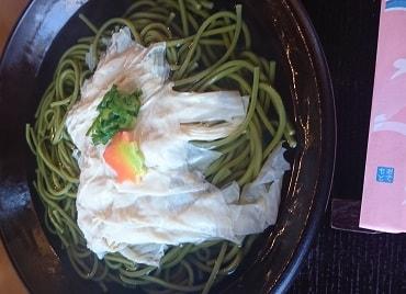 京都の蕎麦屋に行ってみた
