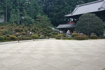 東福寺の開山堂の普門院