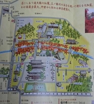 東福寺のパンフレット
