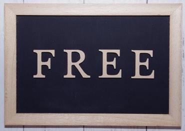 自由を英語でFREE